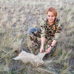 Женский взгляд на охоту. Охота на сурка.
